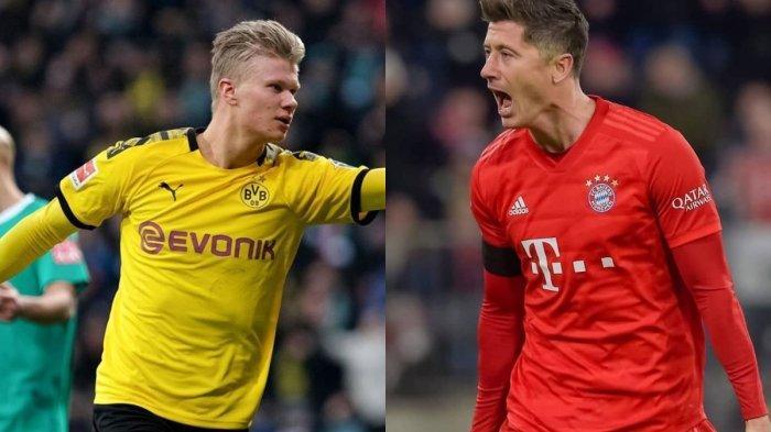 Dortmund vs Bayern Munchen Der Klassiker Bundesliga, The Young Boys Haaland vs Lewandowski