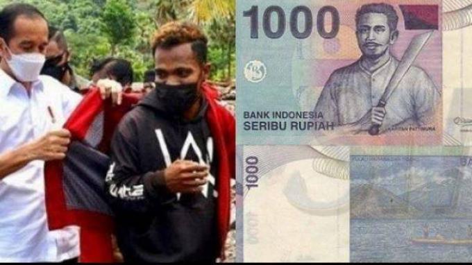 Kisah Pemuda NTT dan Jaket Merah Pemberian Jokowi,Terselip Uang Rp 1.000 Bergambar Pattimura