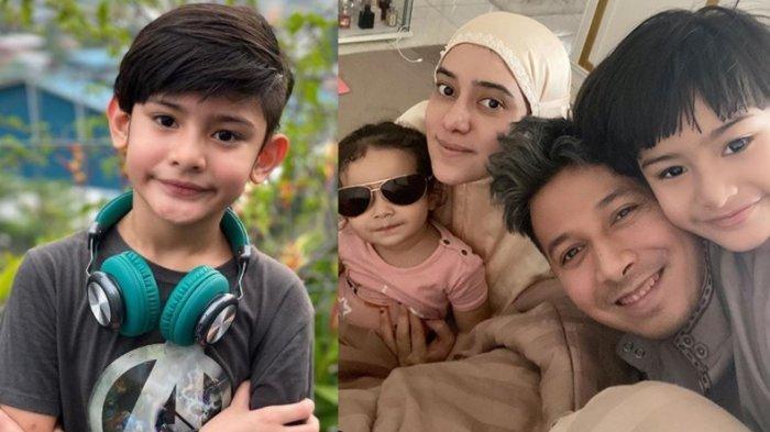 Kolase foto keluarga Sonny Septian dan Fairuz A Rafiq