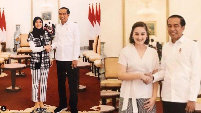 Unggah Foto dengan Presiden, Meisya Siregar dan Mona Ratuliu Ungkap Isi Pertemuan dengan Jokowi