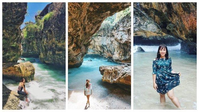 Melihat Keindahan Pantai Suluban, Destinasi Blue Point yang Eksotis di Bali