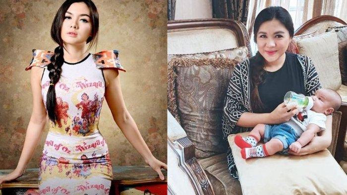 Kolase foto Vicky Shu dulu dan sekarang.