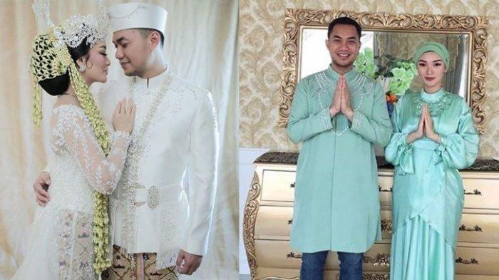 Kolase foto Zaskia Gotik dan Sirajuddin