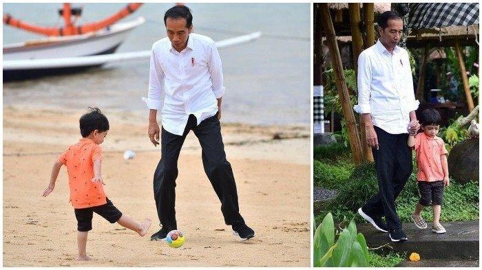 Mulai Ikuti Jejak Sang Mbah, Jan Ethes Cucu Pertama Jokowi Gemari Jamu, Ini Beragam Manfaatnya