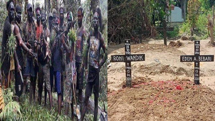 2 Anggota KKB Papua Ditembak Mati, Veronica Koman Unggah Foto Kuburan
