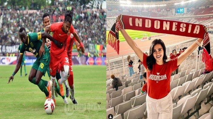 Wanita Cantik Ini Lapor ke Satgas Antimafia Bola Terkait Laga Persebaya Vs Persija Jakarta
