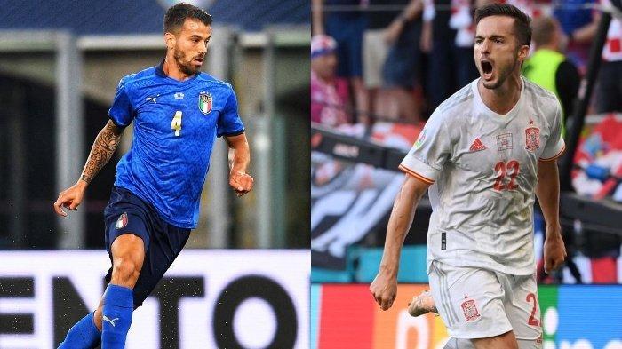 Prediksi Susunan Pemain Italia vs Spanyol, Azzurri Kehilangan Spinazzolla, La Roja Tanpa Sarabia