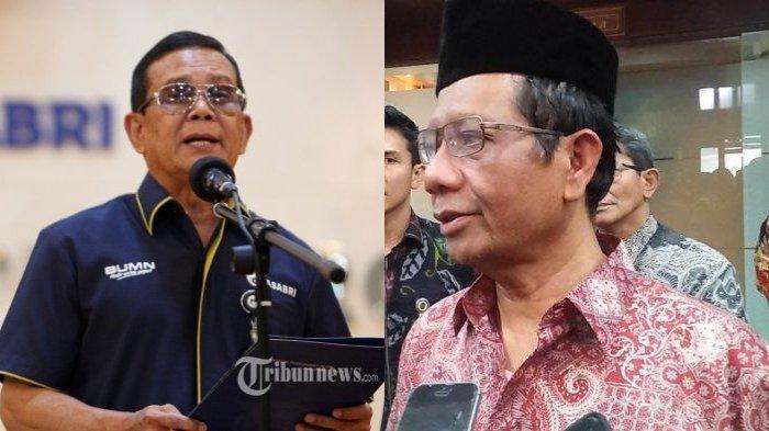 8 Orang Ditetapkan Tersangka Korupsi Asabri, Mahfud MD Ungkit Pernyataannya 1 Tahun Lalu