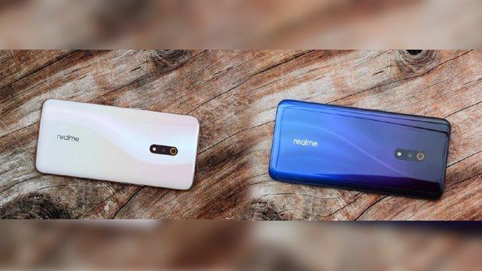 Dua varian warna Realme X