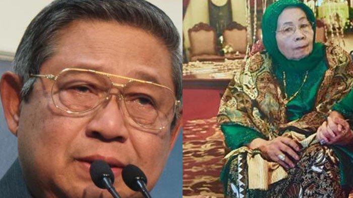 Kolase SBY dan sang ibu, Hajah Siti Habibah