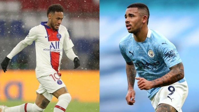 Liga Champions, PSG vs Man City: Duel Dua Tim Agresif, Potensi Tercipta Banyak Gol