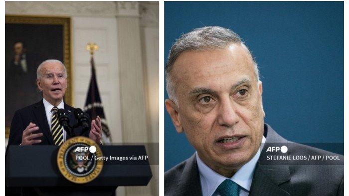 Presiden AS Joe Biden dan PM Irak Bahas Serbuan Serangan Roket di Baghdad
