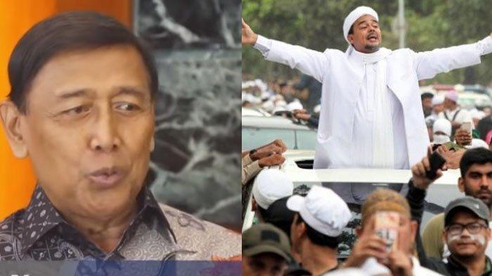 Kolase Wiranto dan Rizieq Shihab