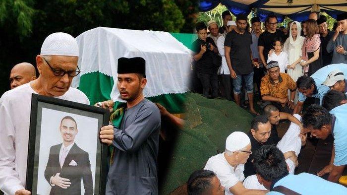 Kolasew foto ayah mertua BCL ikut kuburkan jasad putranya, Ashraf Sinclair