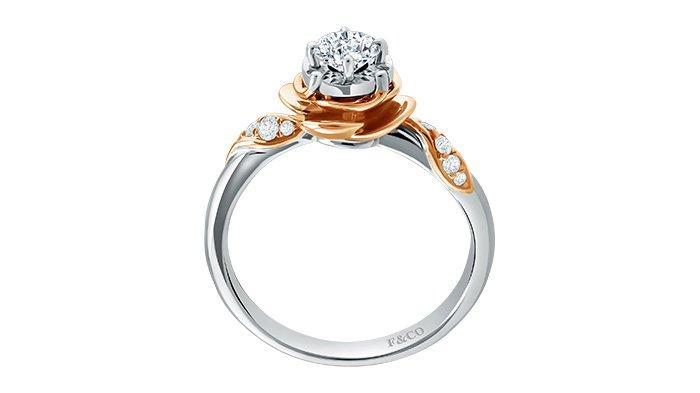 Koleksi cincin berlian peony dari Frank & co..