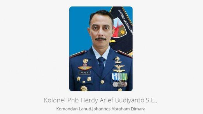 Kolonel Pnb Herdy Arief Budiyanto (tangkap layar tni-au.mil.id)