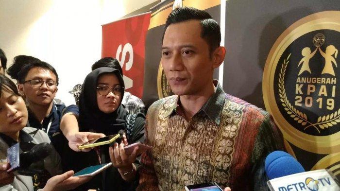 Komandan Kogasman Partai Demokrat Agus Harimurti Yudhoyono (AHY)