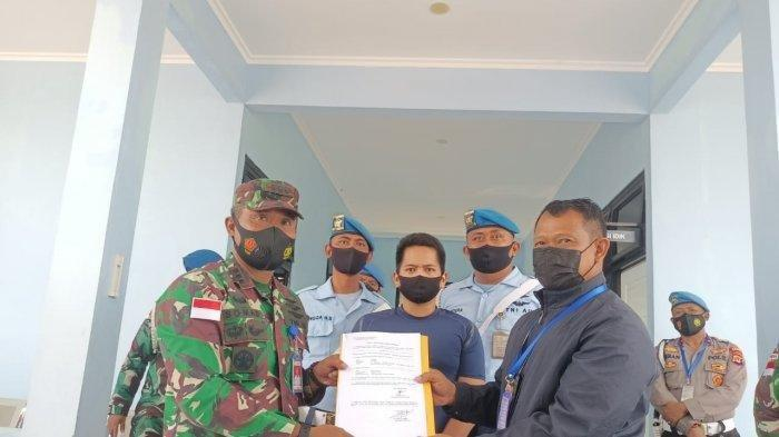 Tagih Utang, Penjual Sayur di Tarakan Mengaku Anggota TNI AU, Pelaku Diciduk Tim Satradar 225