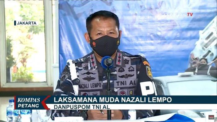 Komandan Puspomal, Laksamana Muda TNI Nazali Lempo.
