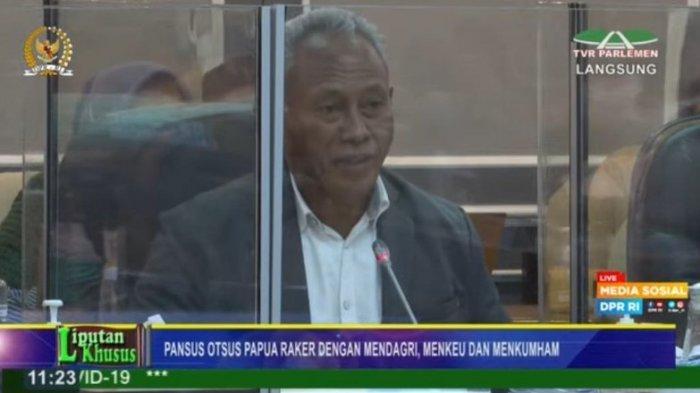 Ketua Pansus Jabarkan Perubahan Pasal dalam RUU Otsus Papua