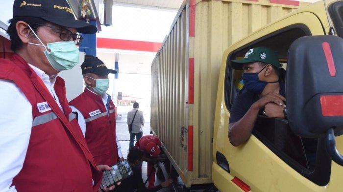 Pertamina: Stok BBM di Tol Trans Jawa Aman