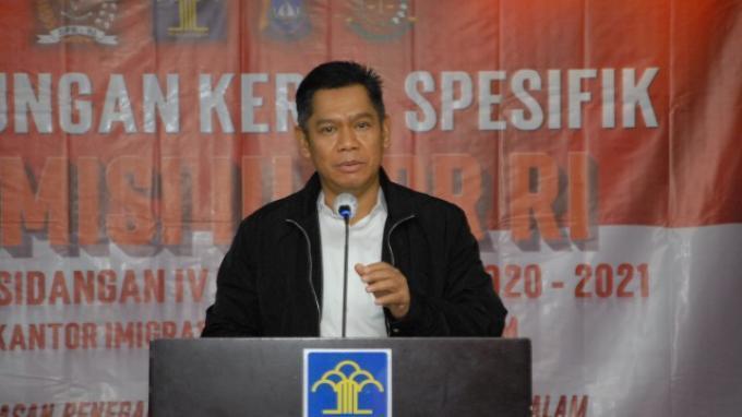 Komisi III DPR: Akses Penyeberangan Keluar Masuk Batam Sudah Sangat Ketat