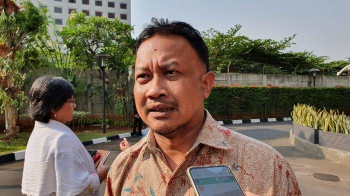 Komisioner Komnas HAM Choirul Anam di Gedung Merah Putih KPK, Jakarta, Senin (5/8/2019)