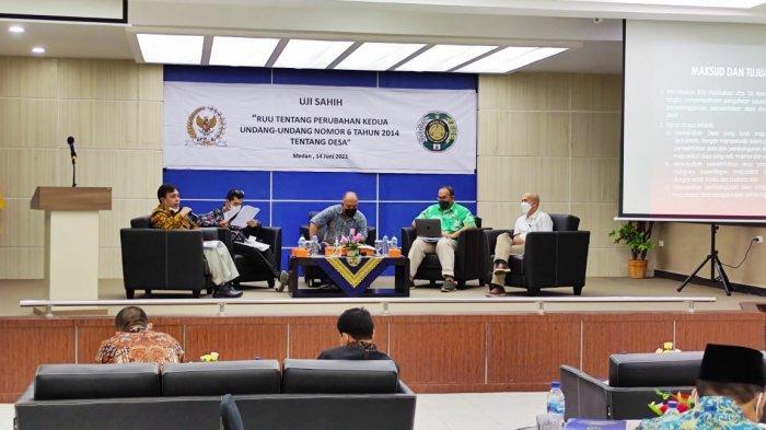 Komite I DPD RI Rumuskan RUU Perubahan Kedua Atas UU Desa