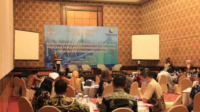 Komite IV DPD RI Dorong Percepatan Penyaluran Dana PEN di Provinsi Jawa Timur