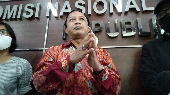 Komisioner Komnas HAM RI M Choirul Anam di kantor Komnas HAM RI Jakarta pada Kamis (27/5/2021).