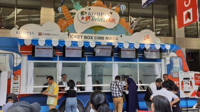 Transaksi di Kompas Travel Fair Ditargetkan Capai Rp 111 Miliar