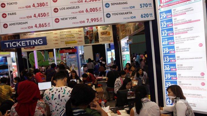 Simak Tips Berburu Tiket Pesawat Murah di Kompas Travel Fair