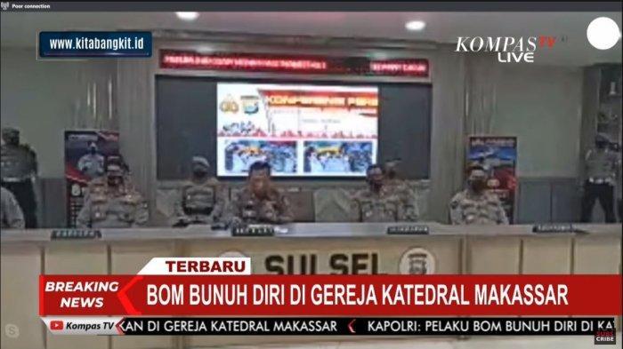 Polisi Telah Tangkap 13 Terduga Teroris Pasca-Bom di Makassar