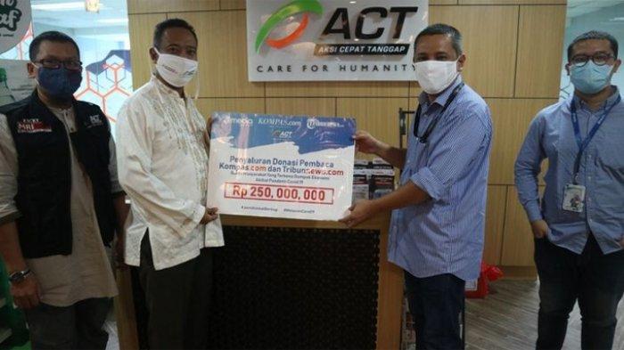 Donasi Rp 780 Juta Disalurkan kepada Warga, Terima Kasih Pembaca Kompas.com dan Tribunnews.com
