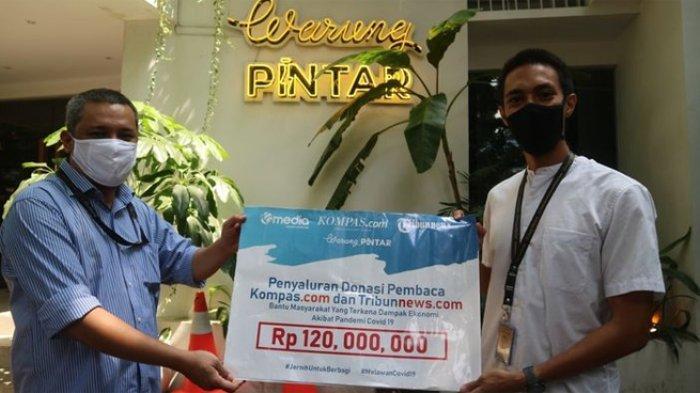 Terima kasih pembaca Kompas.com dan Tribunnews.com, donasi Anda sebesar Rp 780.843.000 telah disalurkan untuk membantu 3.728 keluarga yang terdampak pandemi Covid-19.