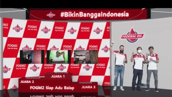 Babak Final Balapan Virtual FOGM2 'Siap Adu Balap', Ini Para Pemenangnya