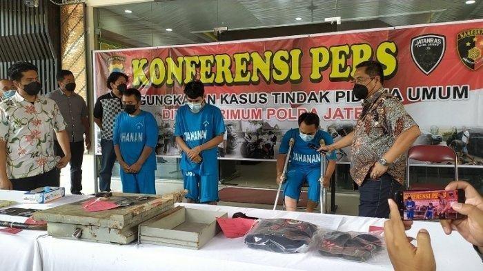 Gasak 13 Brankas Minimarket, Komplotan Rampok Alas Roban Akhirnya Dibekuk Polda Jateng