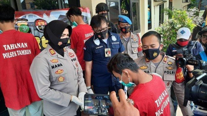 Komplotan Begal Sadis Diringkus Setelah Beraksi di Tambun Bekasi, Pelaku Tak Segan Lukai Korbannya