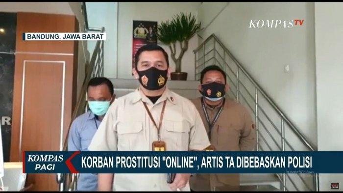 UPDATE Kasus Prostitusi Online: Artis TA Dibebaskan dan Dikenai Wajib Lapor sebagai Korban