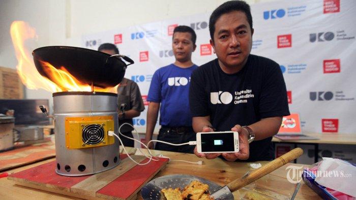 Cara Mudah Membuat Huwako Kompor Berbahan Bakar Sampah Penghasil Energi Listrik Tribunnews Com Mobile