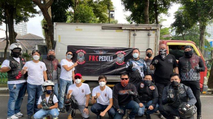 Di Tengah Pandemi, Komunitas Harley Davidson Ini Tetap Berbagi 'Energi Positif' Terhadap Sesama