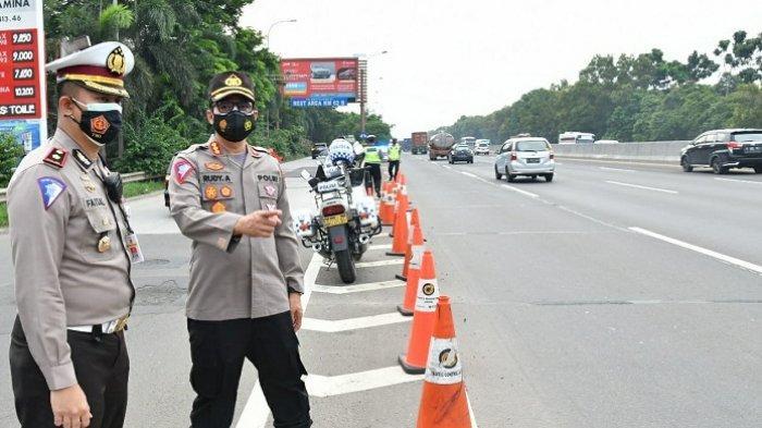 Pantau Arus Balik di Banten, Bogor, dan Cikampek, Kabag Ops Korlantas: Semua Normal dan Terkendali
