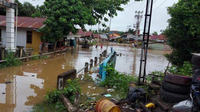 Hari Pertama Idul Fitri, Lima Kabupaten di 4 Provinsi Terdampak Banjir dan Longsor