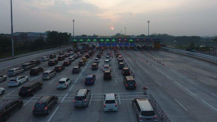 H+2 Tahun Baru 46.617 Kendaraan Kembali ke Jakarta