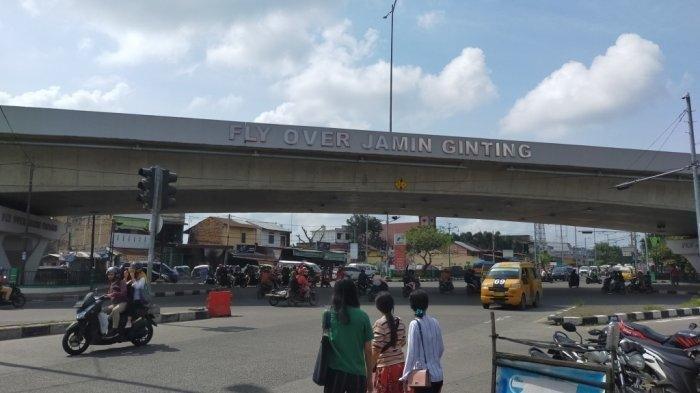 Polisi Berseragam Lengkap Lompat dari Fly Over Jamin Ginting Medan, Begini Kondisinya