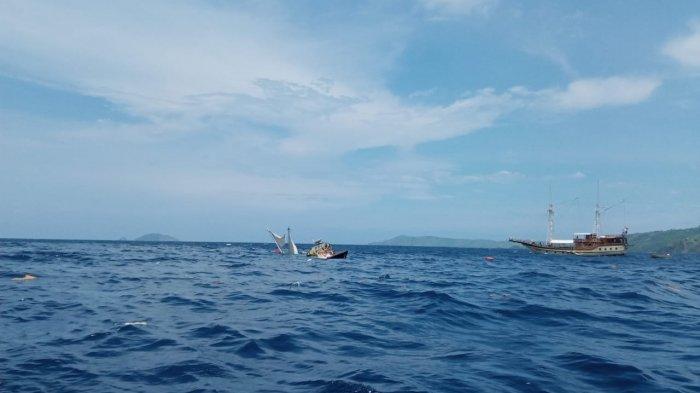 Kondisi kapal yang tenggelam
