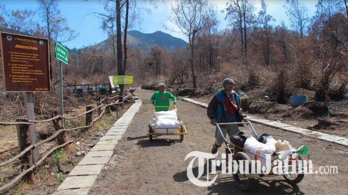 Wisatawan Serbu Kawah Ijen Setelah 18 Hari Ditutup Pasca Kebakaran