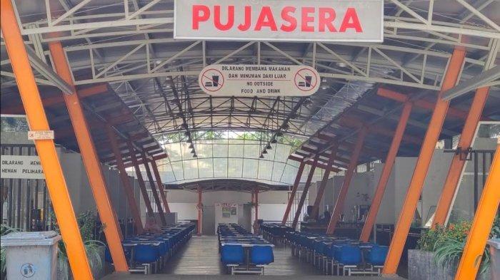 Kantin Pujasera Rest Area Bogor Sepi Pengunjung Akibat Larangan Mudik
