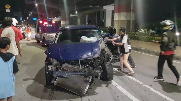 Polisi Akan Tes Urine Pengemudi Honda HRV yang Tabrak 2 Pemotor di Jakarta Timur Hingga Tewas
