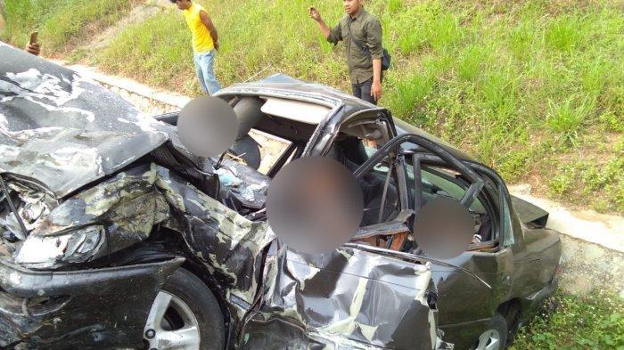 Tabrakan Dahsyat Tiga Kendaraan di Tol Cipali Tewaskan Lima Orang